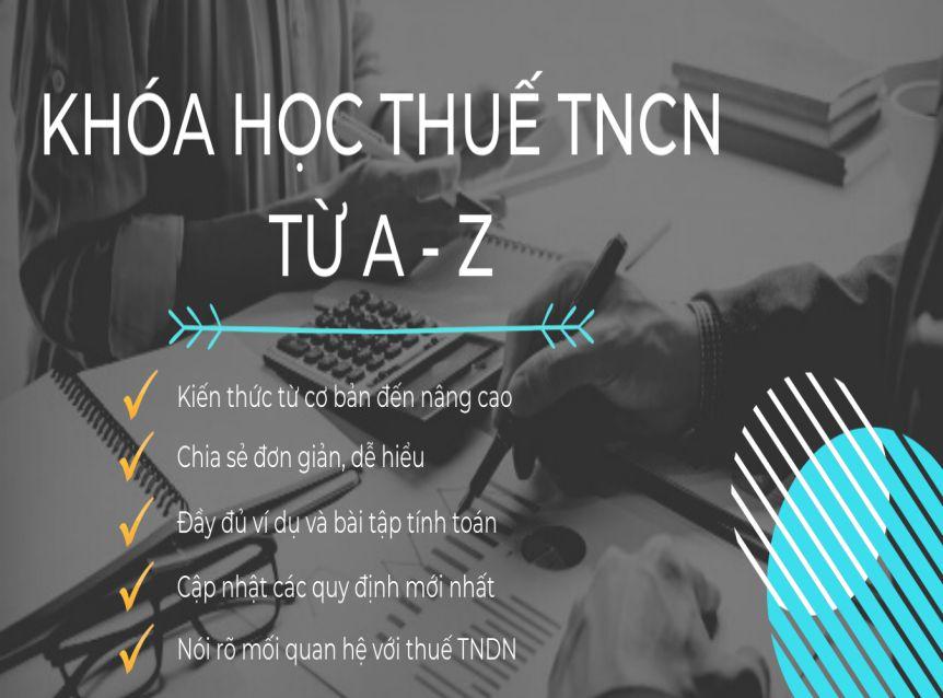 Khóa học Thuế TNCN từ A – Z